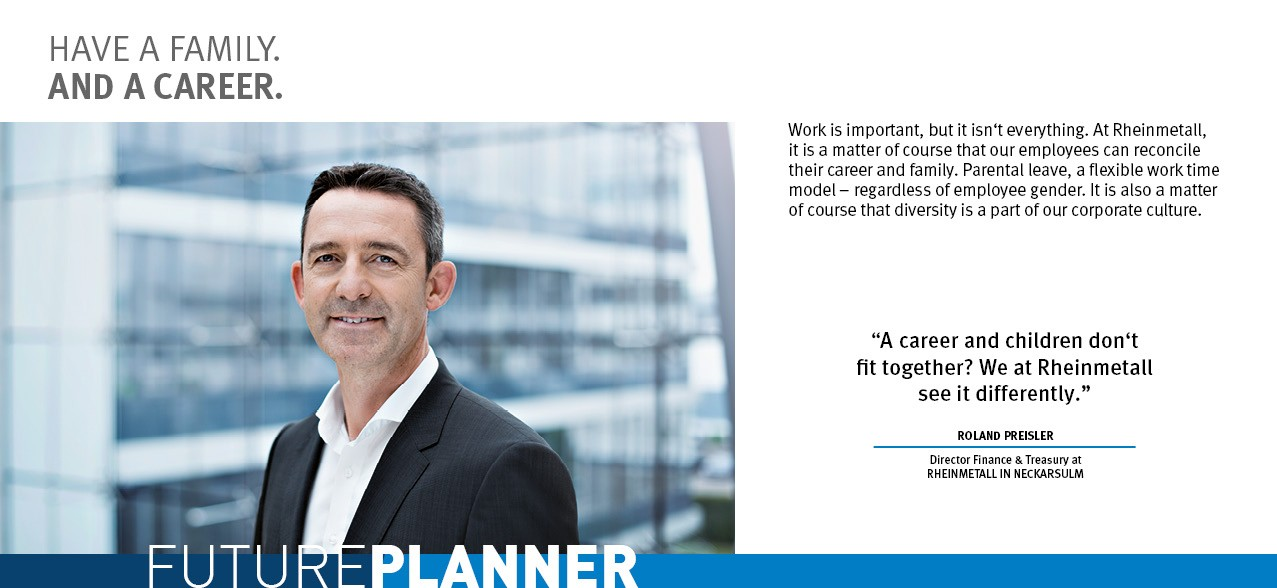 Futureplanner - Roland Preisler - Rheinmetall Group Career Prospects
